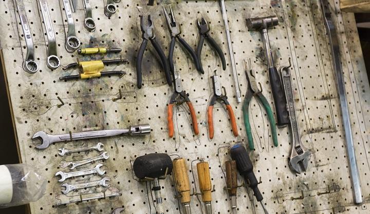 オフ輪工場の設備