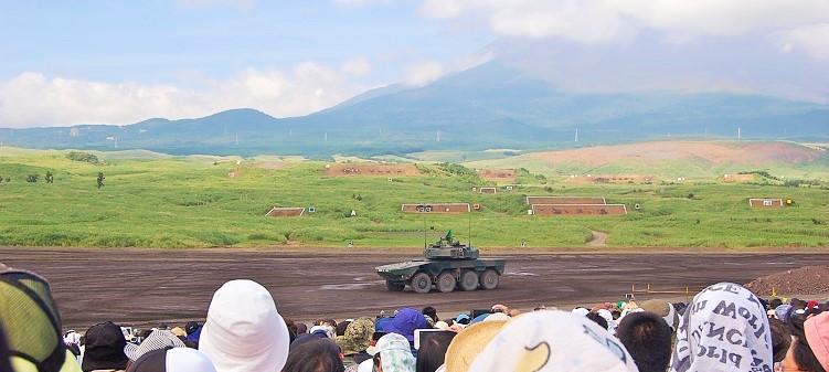 富士総合火力演習2017