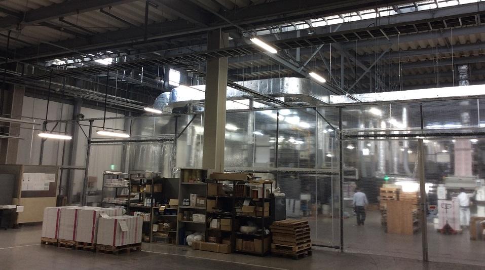 工場の景色が少し変わりました。